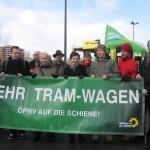Invalidenstraße – mehr Tram wagen!
