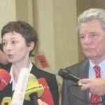 Grüne Wahlfrauen und Wahlmänner unterstützen Gauck