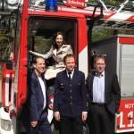 Zu Besuch in der Feuerwehrakademie