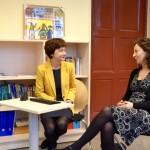 Unterwegs im Wahlkreis: Besuch der Grundschule am Koppenplatz
