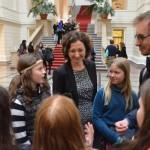 Girls' Day im Berliner Abgeordnetenhaus