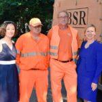 Orange macht Grün: In Mitte werden die Parks sauberer. Dank der BSR